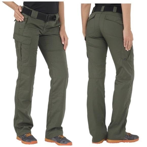 1c01e333f713c 5.11 Pants | 511 Green Bdu Tactical Bootcut Sz 4 Army | Poshmark